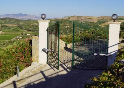 Cancello Ferro Verde